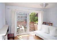 Spacious sunny 1 double bedroom flat with balcony. Large double bedroom. Lounge & separate kitchen