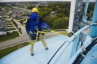 Working at Heights / Aerial Work Platforms Training / WHMIS