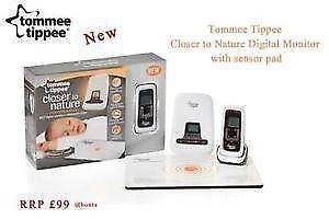 tommee tippee monitor sensor monitors ebay. Black Bedroom Furniture Sets. Home Design Ideas