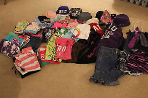 54 item lot of girl's clothes size 10-12