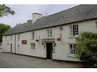 Sous Chef & Front of House Staff Required - Country Pub, Vale of Glamorgan - Under New Management