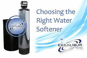 Excalibur Water Softeners  Iron Sulphur Chlorine Filter Systems