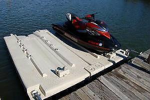 Quai flottant pour 2 Moto Marine (SEA DOO)