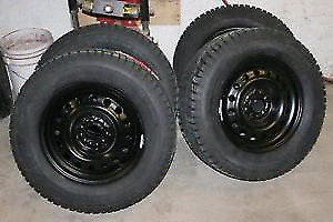 Winter rim and tires