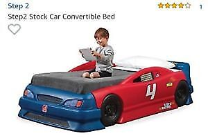 Step 2 race car bed twin toddler