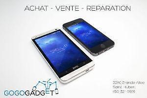 Boutique Gogo Gadget regle tout vos problèmes de cellulaire, tablette 450-321-0609