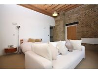 !!! A stunning 1 bedroom warehouse conversion with parking in Royal Docks near to transport links