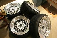 "18x9"" +30 BBS rs Style Wheels"
