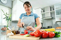Valued Senior Care Providers for Household Mngt and Meal Prep