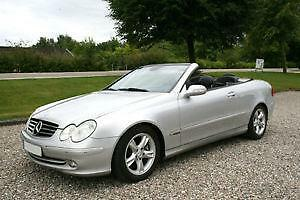 mercedes clk w208 cabrio ebay. Black Bedroom Furniture Sets. Home Design Ideas