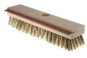new deck brush with squeege