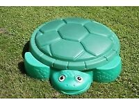 Used but great condition, little tikes turtle sandpit/ water play