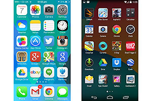 Different OS