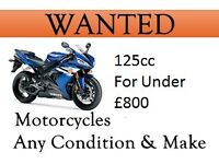 125cc Wanted