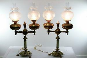 Oil lamp shade antique glass hanging lamps antique hanging oil lamps - Antique Lamp Globe Ebay