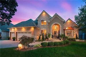 6 Yrs New Custom Built 5 Bdr Home W/Rare 3 Car Garage