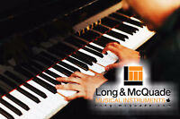Piano lessons at Long & McQuade Woodstock