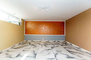 Custom built new basement room rent for MALE near Warden station
