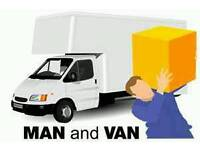 LOW COST MAN WITH A BIG VAN&LUTON TAXI VAN -RELIABLE - Removals. Small Moves, Ebay,Ikea Collection