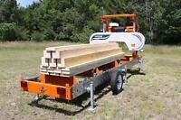 Custom Portable Sawmill Services