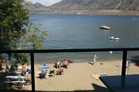 Furnished Osoyoos Lake condo - on site manager