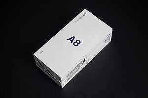 Samsung Galaxy A8 Black 32gb Unlocked Phone Full Warranty BNIB