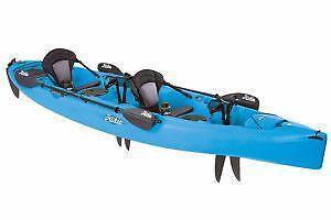 Hobie kayak ebay for Fishing kayak with foot pedals