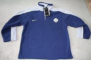 BRAND NEW TORONTO MAPLE LEAFS NIKE FLEECE SWEATSHIRT YOUTH S
