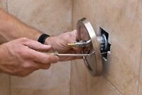 Faucet, toilet, shower installation and repairs