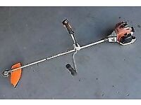 Heavy Duty Professional Stihl FS240 Brush Cutter With 2 New Padded Harnesses Only £290 Was £1000