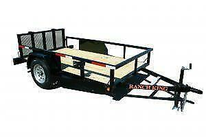 20 Traileron Aluminum Open Car Hauler Trailer