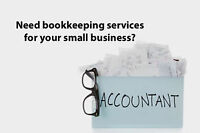 Bookkeeping Services - no job is too small