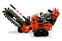 Trenching Rental or Trenching Service