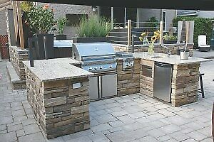 WE CAN DESIGN YOUR PERSONAL OUTDOOR BAR/KITCHEN! L.Martin