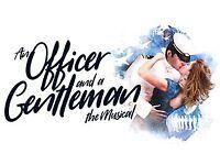 2 tickets for An Officer & a Gentleman - The Musical Manchester