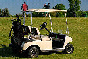Looking for a golf cart