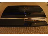 Rare and Collectable Play station 3 CECHA01 NTFS/J