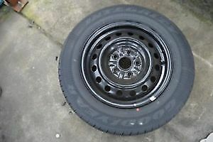 Goodyear Intergrity tires on new rims