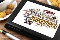 Assignment, Dissertation, Essays and Thesis HELP Available