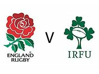 England V Ireland Six Nations tickets 17th March 2018 14:45