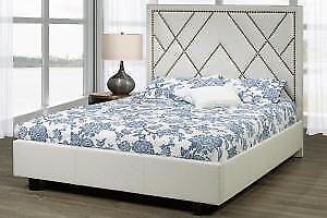 Canadian Built Queen Platform Bed (TI27)