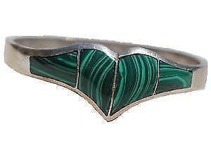 Mexican Silver Green Bracelets