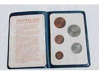 Britain's First Decimal Coins Presentation Pack 1971