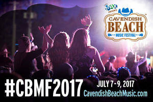 Selling 2 VIP 2017 Cavendish beach music festival tickets