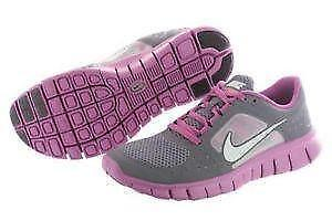 Women s Grey Nike Free Run 3