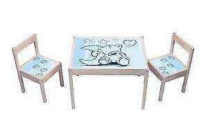 kindersitzgruppe ikea tische st hle ebay. Black Bedroom Furniture Sets. Home Design Ideas
