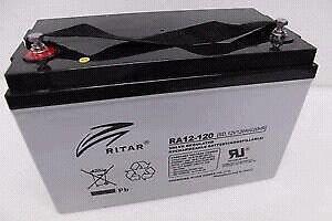 RITAR 120AH AMP BATTERY AGM 12 VOLT Dakabin Pine Rivers Area Preview