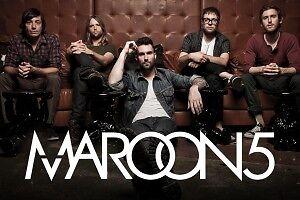 Maroon 5  centre videotron 1er parterre