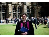 English Tuition from Professional Writer with a PhD in Scottish Literature: Glasgow Area