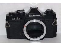 FILM CAMERA - Cosina CT-1A - PENTAX COMPATIBLE